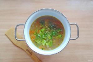 Гречневый суп с брокколи - фото шаг 7