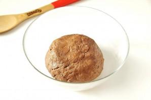 Шоколадное печенье с вареной сгущенкой - фото шаг 4