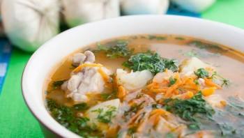 Суп с перловкой и курицей - фото шаг 6