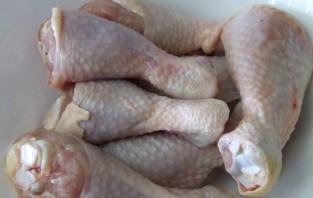 Куриная голень в рукаве - фото шаг 1