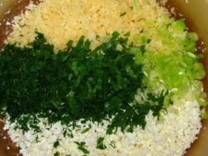 Запеканка из кабачков с творогом - фото шаг 2