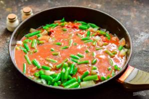 Стручковая фасоль в томатном соусе - фото шаг 6