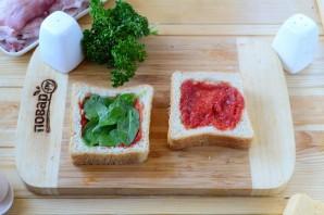 Сэндвич в беконе - фото шаг 4