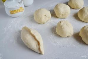 Домашние пирожки c капустой - фото шаг 7