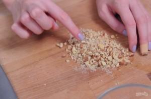 Яблочный чизкейк в баночках - фото шаг 2