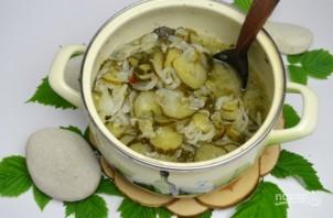 Салат из огурцов и лука на зиму - фото шаг 8