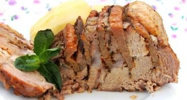 Мясо с айвой в мультиварке - фото шаг 7