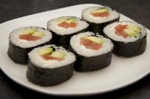 Суши с сыром - фото шаг 9