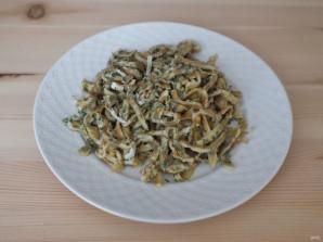 Салат из горошка и кукурузы - фото шаг 4