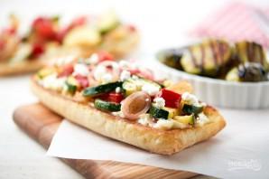 Багет с запечёнными овощами - фото шаг 6