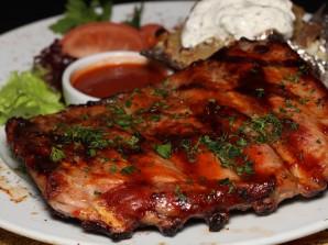 Рёбрышки свиные под соусом барбекю - фото шаг 5