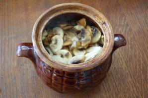 Чанахи в горшочках с фасолью - фото шаг 11