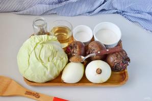 Салат с капустой на зиму - фото шаг 1
