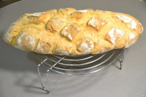 Кукурузный хлеб на закваске - фото шаг 32