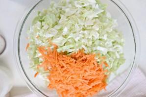 Капустный салат с заправкой - фото шаг 1
