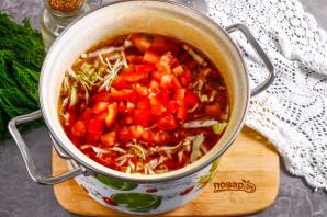 Борщ с помидорами - фото шаг 8
