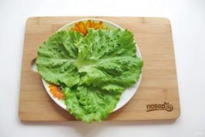 Теплый салат из шампиньонов с топинамбуром - фото шаг 5