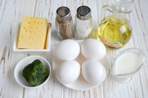 Омлет со шпинатом за 10 минут - фото шаг 1