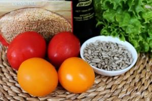 Салат с помидорами и горчицей - фото шаг 1