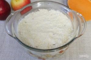 Пряный пудинг из тыквы и яблок - фото шаг 12