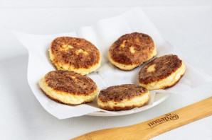 Сырники из творога с сыром - фото шаг 5