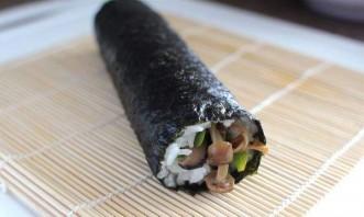 Вегетарианские суши - фото шаг 5