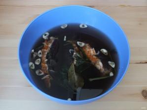 Квашеные баклажаны с капустой - фото шаг 11