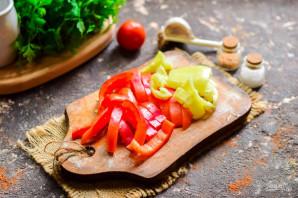 Маринованные баклажаны с болгарским перцем - фото шаг 3