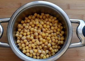 Ливанский хумус с пряными куриными сердечками - фото шаг 1
