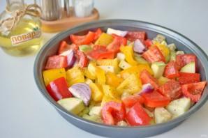 Салат из запечённых овощей - фото шаг 5