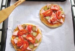 Школьная пицца - фото шаг 8