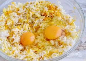 Рисовый пирог со скумбрией - фото шаг 4