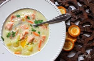 Финский суп из лосося - фото шаг 9