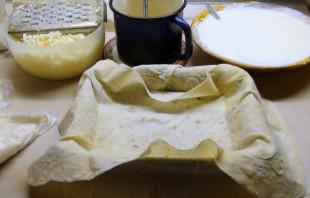Ачма с сыром и творогом - фото шаг 2