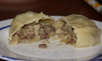 Манты из рубленого мяса - фото шаг 10