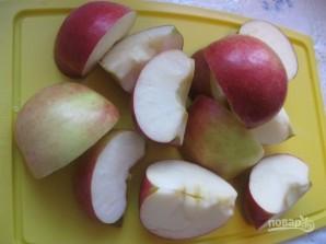 Шарлотка яблочная - фото шаг 1