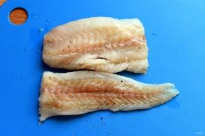 Домашние рыбные пальчики - фото шаг 1