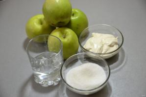 Яблочный щербет - фото шаг 1
