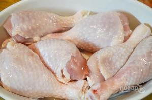 Куриные голени в глазури - фото шаг 1