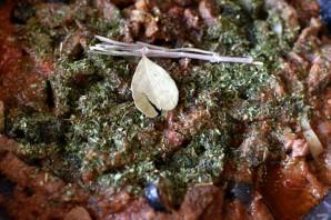 Говядина, тушеная  по-провански в томатном соусе  - фото шаг 6