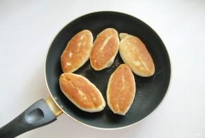 Жареные пирожки со сливовым джемом - фото шаг 9