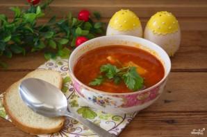 Томатный суп с сельдереем - фото шаг 11