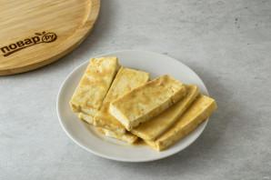 Салат с рукколой и тофу - фото шаг 4