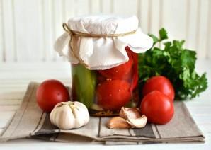 Маринованные помидоры сладко-острые - фото шаг 8