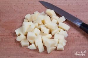 Суп из плавленых сырков с грибами - фото шаг 6