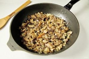 Кабачковый торт с грибами - фото шаг 7