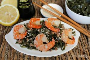 Салат из морепродуктов с морской капустой - фото шаг 6