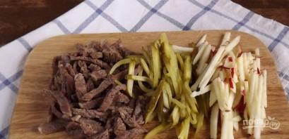 Салат мясной с говядиной - фото шаг 1