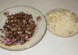 Биточки по-селянски с грибами - фото шаг 7