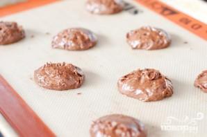 Печенье с зефирной начинкой и шоколадной глазурью - фото шаг 2